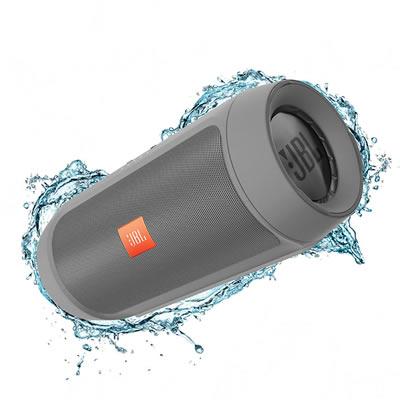 Parlante Portatil JBL Charge 2+ Bluetooth recargable gris