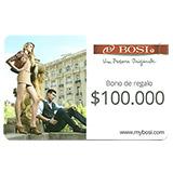 Tarjeta Regalo Bosi de 100.000 pesos|carulla.com