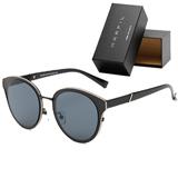 Gafas de sol Marfil marco negro lente negro Unisex|carulla.com