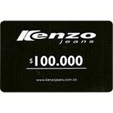 Tarjeta Regalo Kenzo Jeans de 100.000 pesos|carulla.com