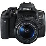 Cámara Canon T6i - EOS750D Lente 18-55mm|carulla.com