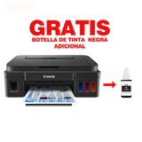 Multifuncional Canon PIXMA G2100 + Tinta de botella negra|carulla.com
