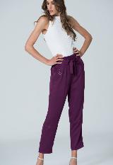 Pantalon Con Cinturon Para Mujer Spírito 39001302|carulla.com