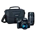 Camara Canon EOS T6 + Lente 18-55 + Lente 75-300|carulla.com