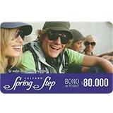 Tarjeta Regalo Spring Step de 80.000 pesos|carulla.com
