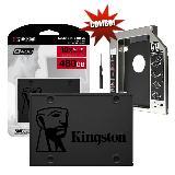 Combo Caddy + Disco Duro Solido Kingston 240 GB A400 Oferta|carulla.com