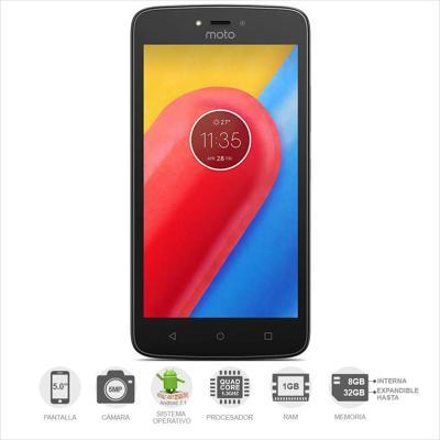 7badcc800bb Celular Motorola C 1Gb Ram 8Gb 5Pg 7 0 MOTO C - Compras por Internet ...