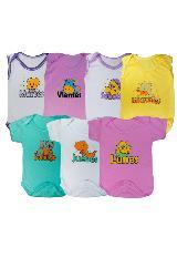Set Semanario Bodies Bebe Niña Glotoncitos Multicolor 0fbb738b021