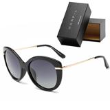 Gafas de sol Marfil marco dorado elegantes Unisex|carulla.com