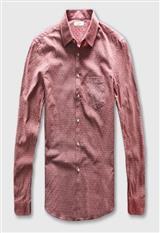 Camisa Manga Larga Zecmos Salmon carulla.com