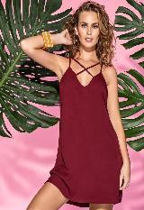 Vestido Corto Warany carulla.com