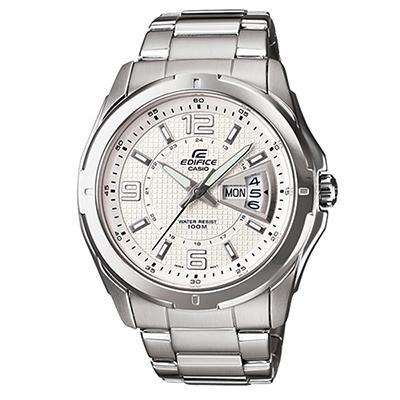 0c350e0c8048 CASIO--Reloj Casio Edifice EF129D-7A Analogico en Acero - Plateado-exito