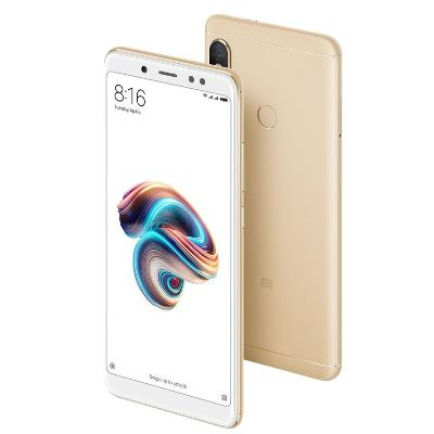 Celular Xiaomi Redmi Note 5 Octa Core 64Gb Ram 4Gb Dorado