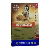 Antipulgas Para Perros Advocate Perros 10 - 25   X 2.5 Ml|carulla.com