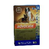 Antipulgas Para Perros Advocate Perros 25 - 40   X 4.0 Ml|carulla.com