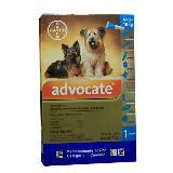 Antipulgas Para Perros Advocate Perros 4 - 10   X 1.0 Ml|carulla.com