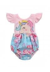 Ropa Infantil Para Niña Body Mameluco Unicornio carulla.com