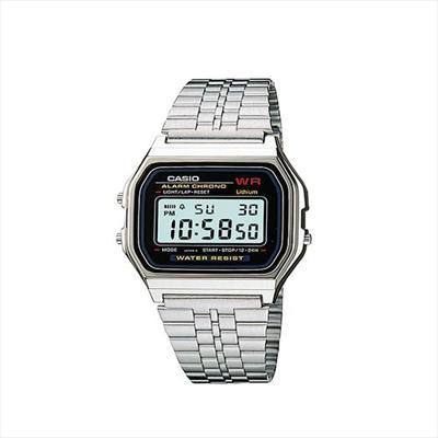 db834f8030e7 CASIO--Reloj Casio A 168WG Plateado Retro Unisex-exito.com