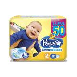 Pañal Pequeñin Extra Protec Et 2 X 50 Unidades|carulla.com