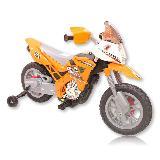 Moto Electrica Recargable Infantil Para Niños Niñas Naranja|carulla.com