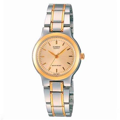 933d9aa34c67 CASIO--Reloj Ltp-1131G-7B Acero Plateado Y Dorado Mujer-exito