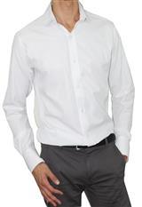 Camisa slim fit Aranzazu cuello francés|carulla.com