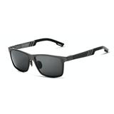 Gafas Lentes de Sol Polarizadas Aluminio Veithdia 6560 Negro|carulla.com