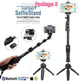 Selfie Stick Con Tripode Inoxidable Ycon Control Recargable|carulla.com