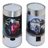 Mini parlante Bluetooth AUTOMOVIL USB altavoz portátil LED|carulla.com