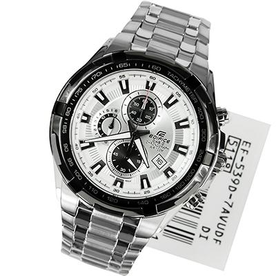 31b6ebacea67 CASIO --Reloj Casio EF-539D-7A Acero Inoxidable Analogo Plateado-exito