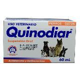 Antidiarreico Oral Perros Y Gatos Quinodiar Oral X 60 Ml|carulla.com