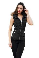 Chaqueta Dama Impermeable Lidia Vest Riv Para Que Ajuste|carulla.com