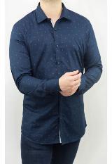 Camisa Casual Azul Sp17Wvn119 Rd carulla.com