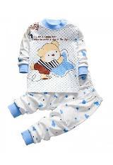 Ropa Infantil Para Bebés Niño Conjunto Pijama Osos carulla.com