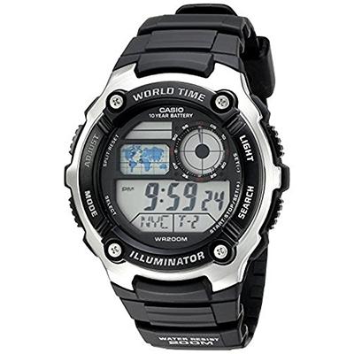 Digital Plu 3a Casio Resina VerdeCarulla Reloj Ae 1000w WH2D9IEY