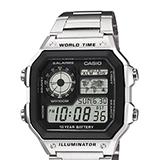 Reloj Casio AE-1200WHD-1A Digital Acero Inoxidable Plateado |carulla.com
