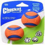 Chuckit Ultra Ball Alta Visibilidad 2 Unidades Talla S|carulla.com
