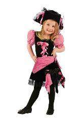 Disfraz Pirata Niña Talla 2 Años 24 Meses Marca Fun World carulla.com