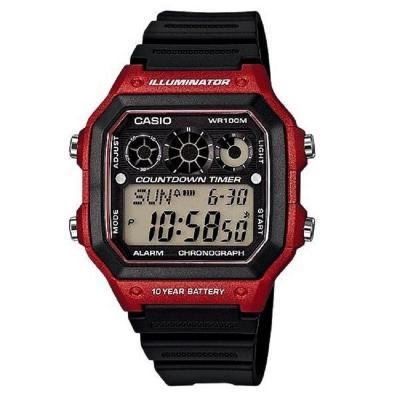 1f57331fd570 CASIO--Reloj Casio AE-1300WH-4A Deportivo Digital Negro Hombre-exito