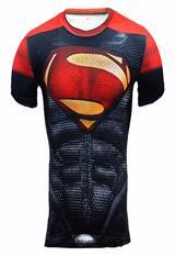 Camiseta Superman Manga Corta Alter Ego Slim Fit|carulla.com