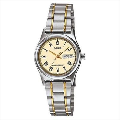 1a740d316175 CASIO--Reloj CASIO Mujer LTP-V006SG-9B Acero Inoxidable Dorado-exito