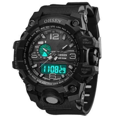 5fe2a6c1cded Reloj Digital Analogico Gado Militar Sumergible Cuarzo AD1606 OHSEN ...