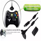Kit De Carga Y Juega Para Xbox Juega Sin Parar + 4800mha carulla.com