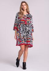 Vestido Animal Print|carulla.com