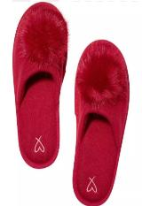 sleep shoes victoria secret pompom zapatos de casa|carulla.com