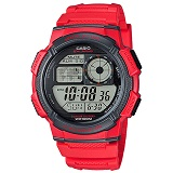 Reloj Casio Ae-1000W-4A Analogo Deportivo Rojo |carulla.com