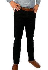 Pantalon Drill Negro Para Hombre Ref,1132|carulla.com