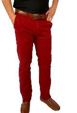 Pantalon Drill Vinotinto Para Hombre Ref,1132|carulla.com