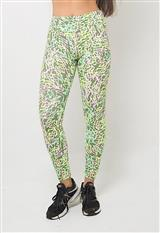 Licra Tapioca Legging Elecetric Green carulla.com