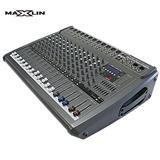 Consola de sonido amplificada de 12 canales y 700 wts rms|carulla.com